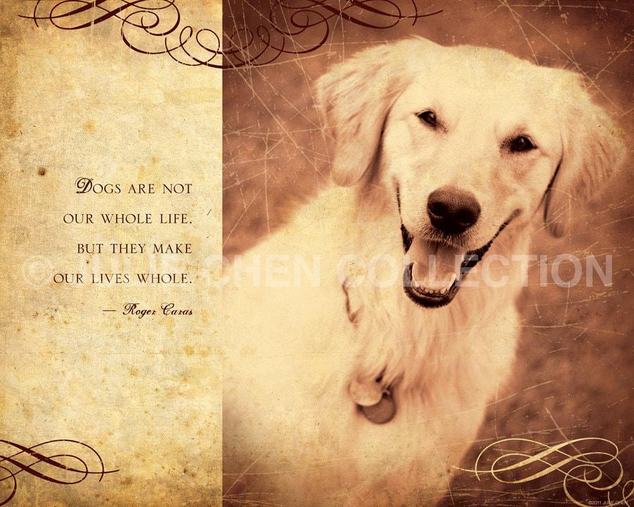 dog lover quote dog decor dog poem dog art dogs are