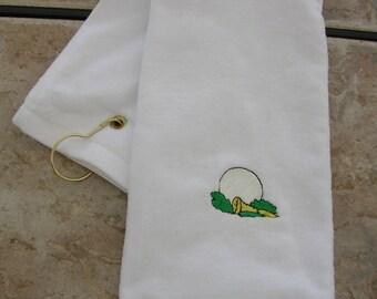 Large Golf Towel,