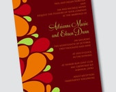 Wedding Invitation Adrienne - Sample Available