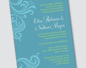 Wedding Invitation Elisa - Sample Available