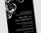 Wedding Invitation Nicki - Sample Available