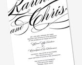 Wedding Invitation Karina