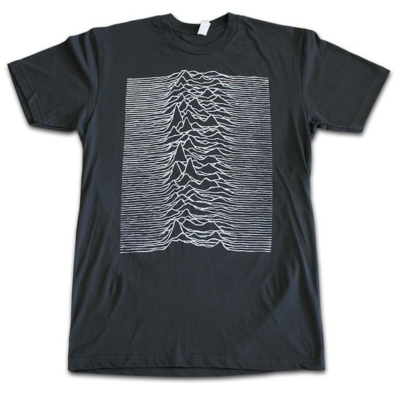 joy division unknown pleasures t shirt xxl. Black Bedroom Furniture Sets. Home Design Ideas