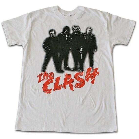 THE CLASH punk rock joe strummer T-shirt M