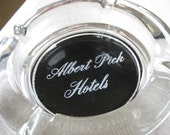 Albert Pick Hotels Ashtray