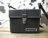 Vintage 1960s Safari Hard Sided Camera Case