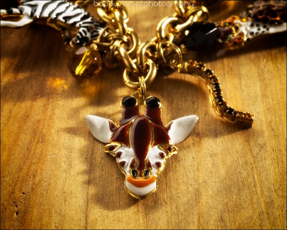 in the jungle animal charm bracelet latr 2go lunch by