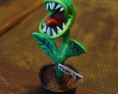 Carnivorous Plant Feed Me Polymer Clay