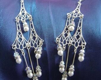 Long chandelier Earrings