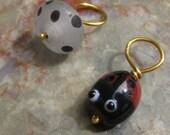 Woolpops Dotty Ladybug Knitting Stitch Markers