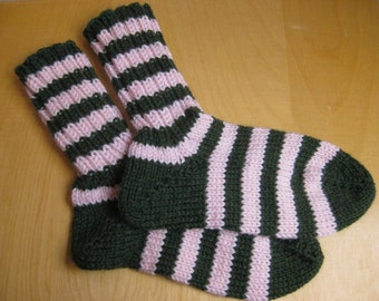 Insouciant Studios Hand Knit Cozy Socks