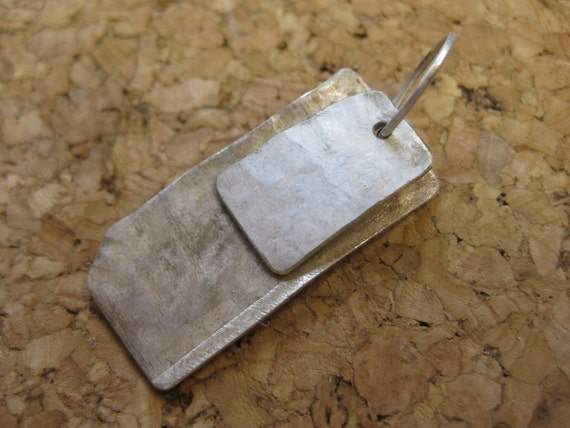 Insouciant Studios Burn Pendant Recycled Sterling Silver