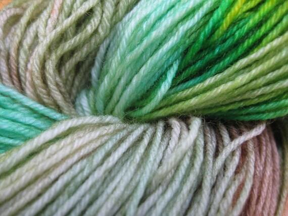 Woolpops Lagoon Hand Dyed Sock Yarn