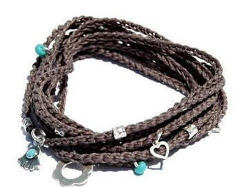 Wrapping Hand Woven Lucky Bracelet