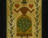 Love's All - cross stitch pattern from Notforgotten Farm