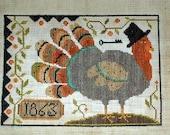Thomas - Primitive cross stitch pattern - from Notforgotten Farm -