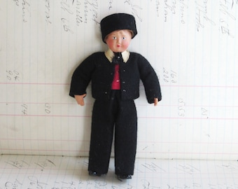 Vintage Celluloid Boy French Doll Antique Collectible