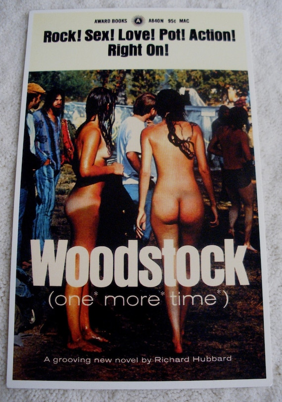 Woodstock novel Postcard