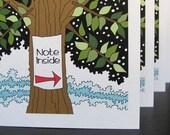 Big Tree (4 Blank Cards)