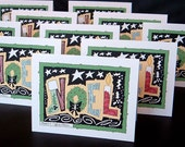 SALE Noel (10 Cards with MESSAGE inside)