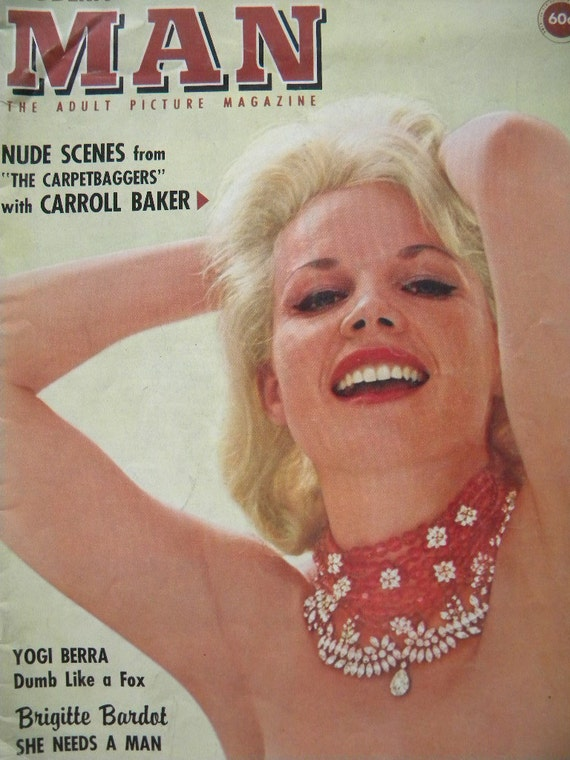 Reserved for Andy-Modern Man Vintage Pin Up Magazine May 1964