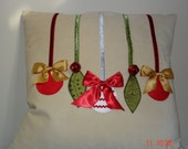 Christmas Ornament Cushion Cover