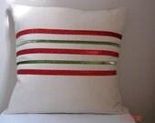 Christmas Glitter Cushion Cover