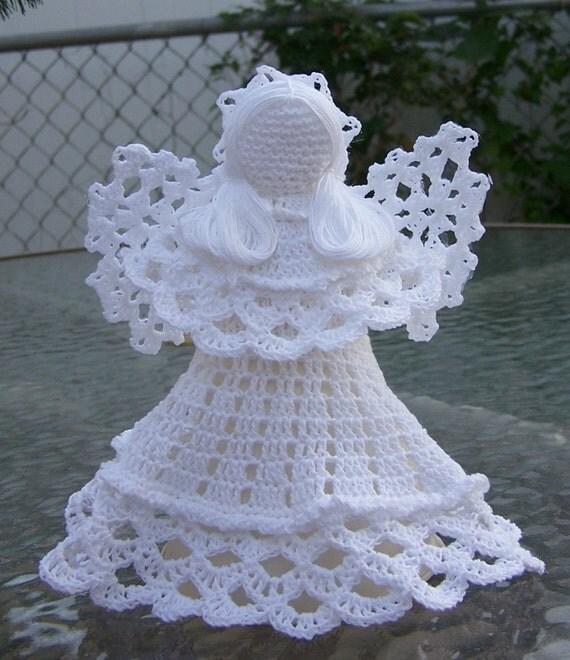Crocheted Angel - White