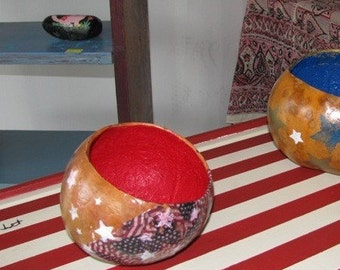small gourd bowl, Americana