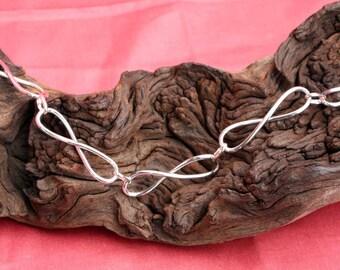 Sterling Silver Ocho Bracelet
