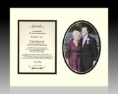 To My Mom on My Wedding Day bridal  / wedding  personalized from groom