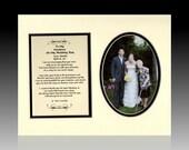 WeddingTo My Grandma (Grandpa or Grandparents) On My Wedding Day Personalized Gift Favor