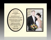 To My Brother On My Wedding Day Personalized Bridal Gift Favor