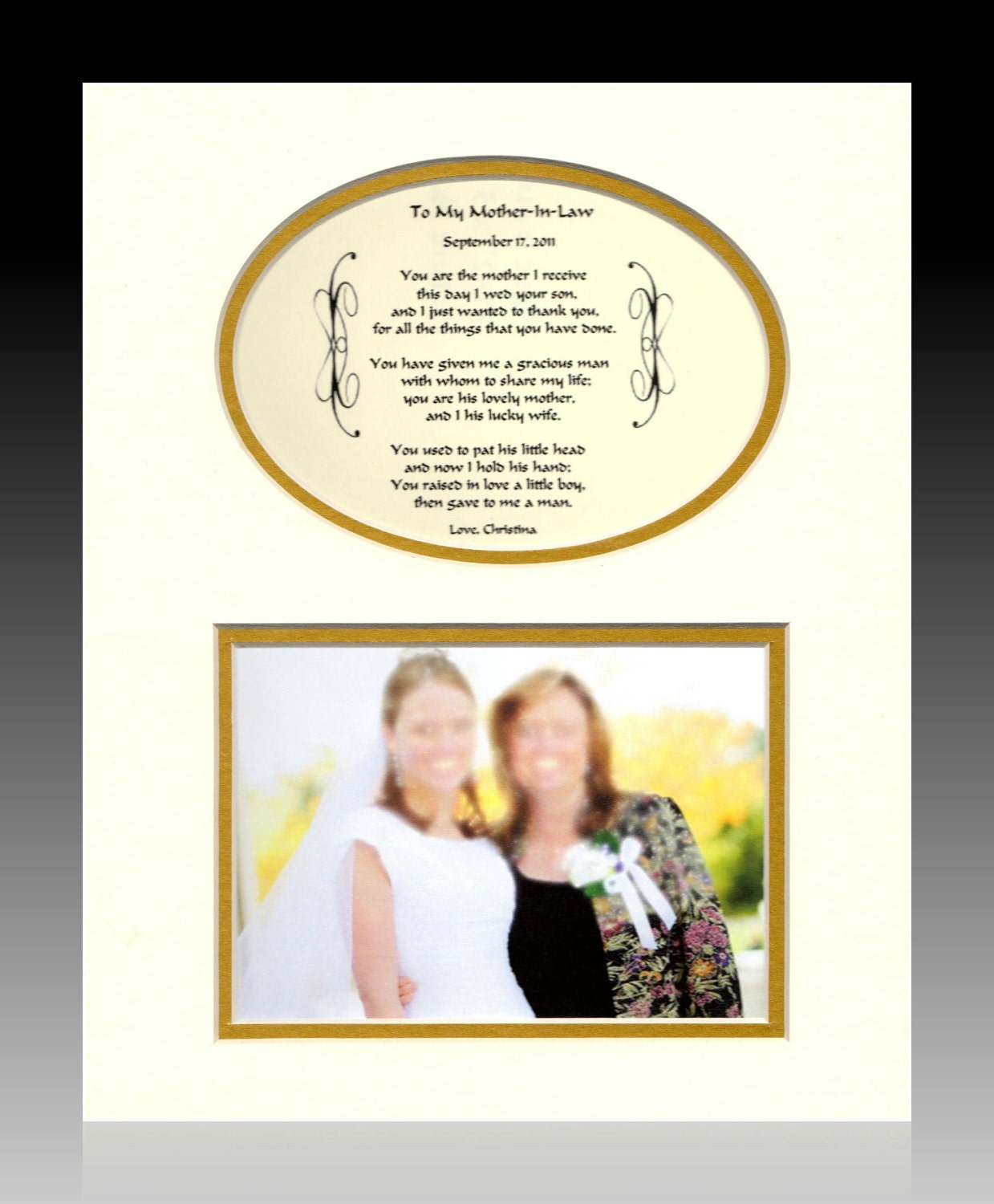 Wedding Gifts For Mother In Law: Wedding Mother In Law Personalized Gift Wedding By
