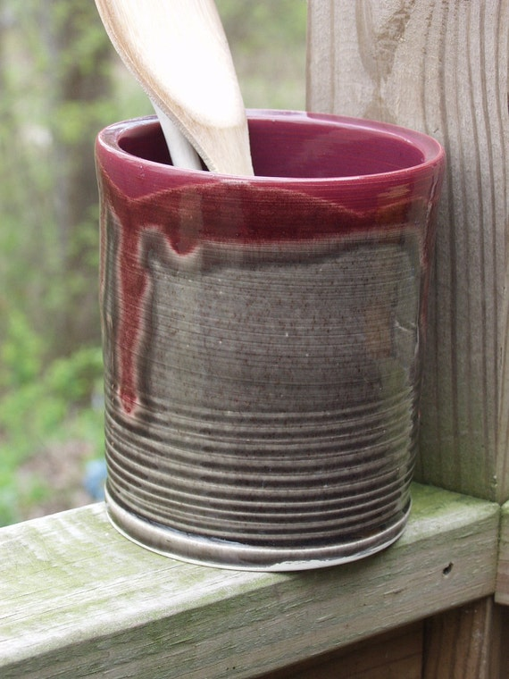 Utensil Holder Vase Small Perfect for Mom Ready to ship