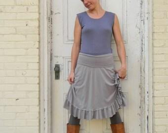 Organic Cotton & Bamboo Simple Adjustable Skirt