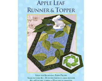 Apple Leaf Table Runner & Topper Sewing Pattern