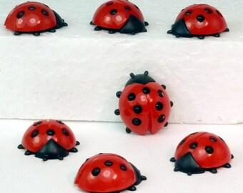 Geman Ladybugs - Large - (203-3-062)