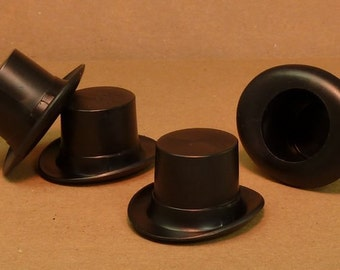 Top Hat - Large Black - set of 6 - (203-3-142)
