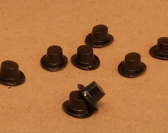 Top Hat - Tiny Black - set of 6 - (203-3-153M)