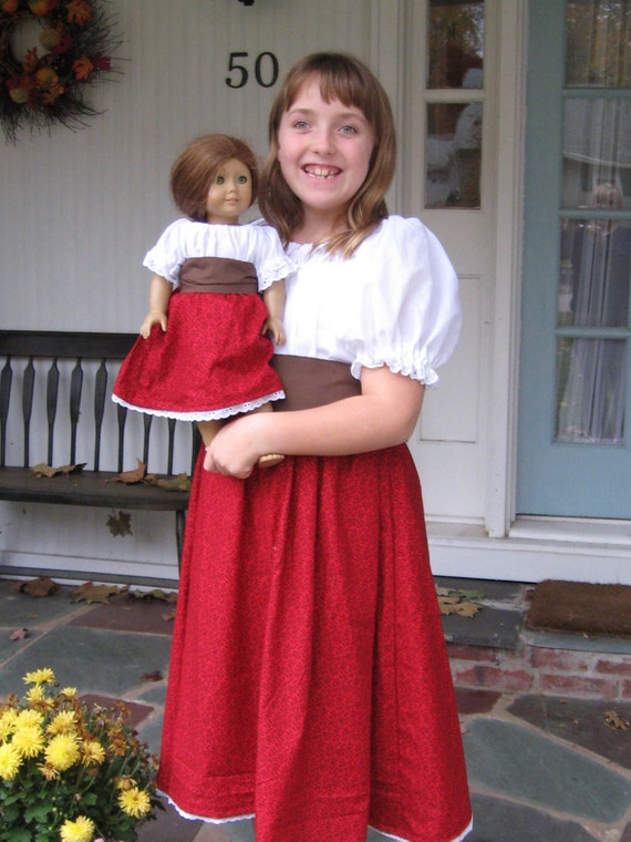 American Girl Meet Josefina Dress Costume By