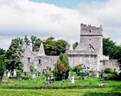 Irish Photography Ireland Muckross Abbey Killarney National Park Architecture Gray Silver Green