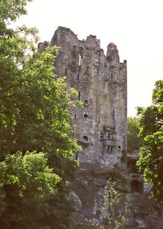 Castle Photography Ireland Architecture Blarney Castle Irish Castle Photo Landscape Print  County Cork Wall Decor Fine Art Photograph