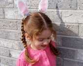 Felt Easter Bunny Ear Hair Clips