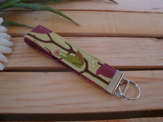 BLOWOUT SALE Purple Rooster Key Fob / Key Chain