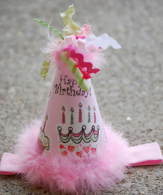 boutique HAPPY BIRTHDAY party bow hat