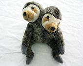 CONJOINED STUFFED SLOTH