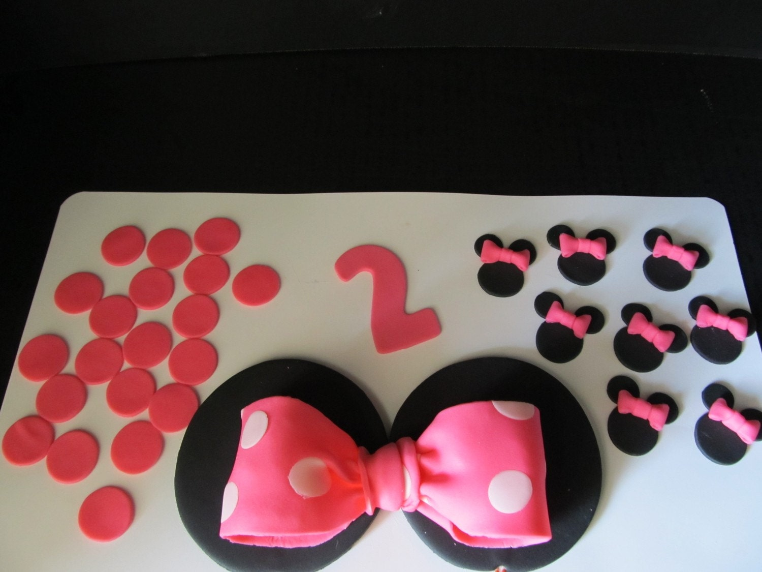 Baby Mickey Mouse Edible Cake Decorations