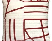 STUDIO SALE Modern Throw Pillow - Cinnamon Sticks 2