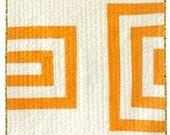 Modern Quilt - Modern Baby/Pet - Orange Creamsicle